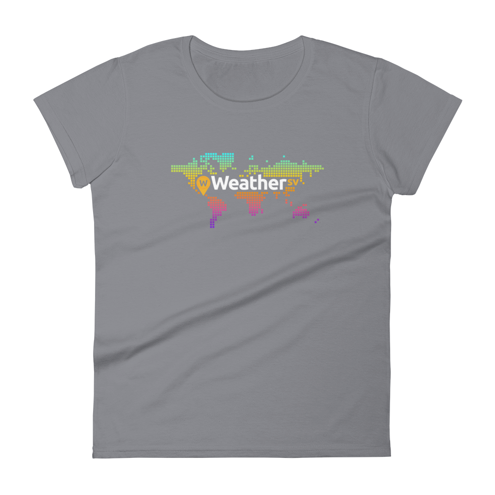 Weather SV Women's T-Shirt Storm Grey S - zeroconfs