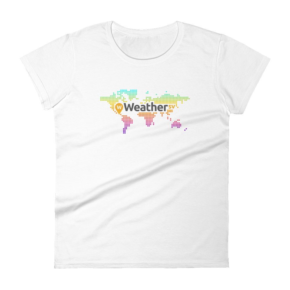 Weather SV Women's T-Shirt White S - zeroconfs