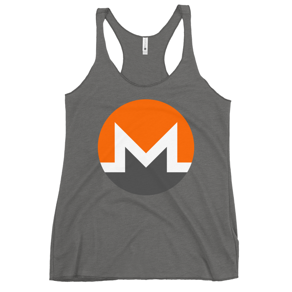 Monero Women's Racerback Tank Premium Heather XS - zeroconfs