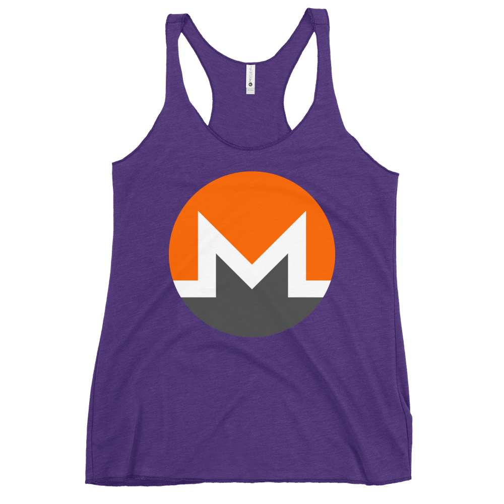 Monero Women's Racerback Tank Purple Rush XS - zeroconfs