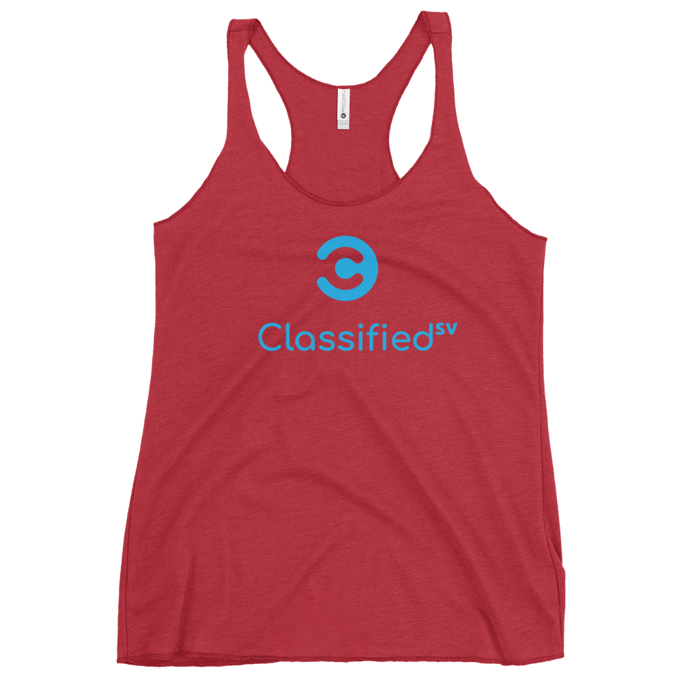 Classified SV Women's Racerback Tank Vintage Red XS - zeroconfs