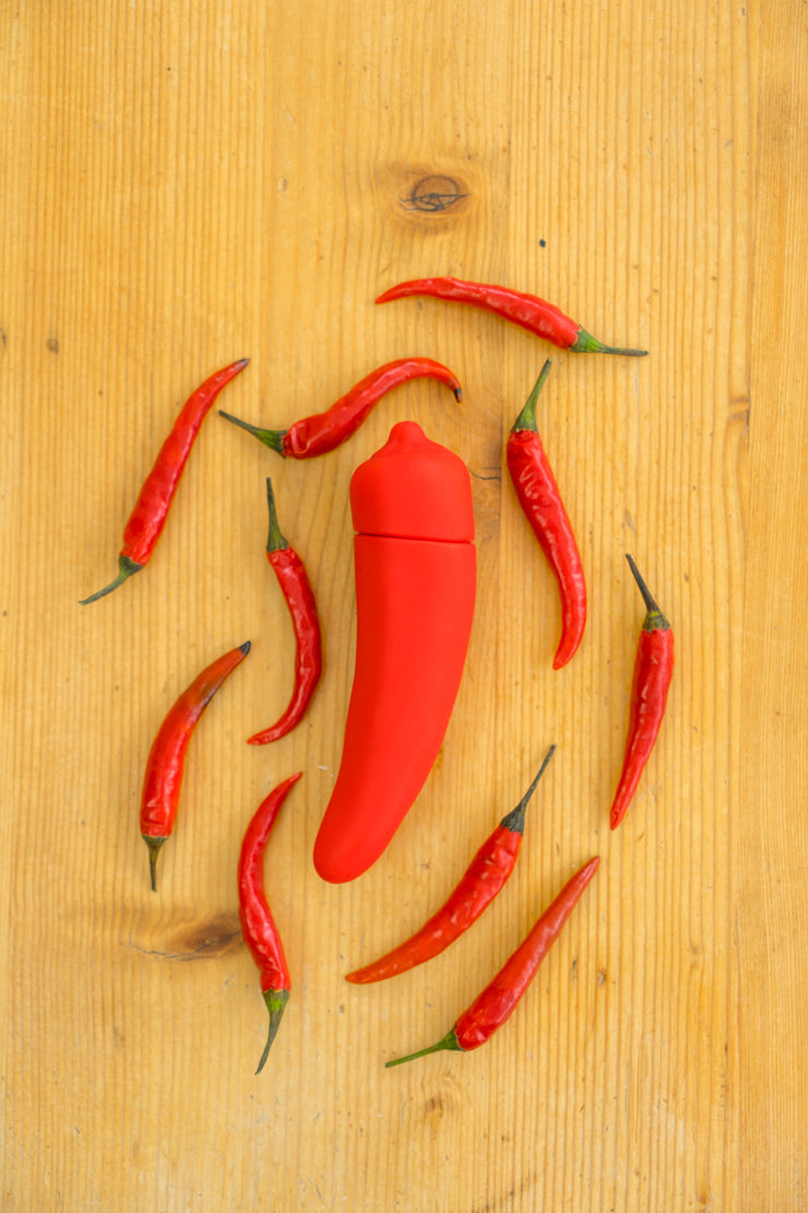 Chili Pepper Bullet Vibrator