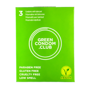 Vegan Condoms 3 pack