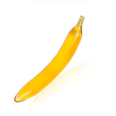 Banana Glass Dildo