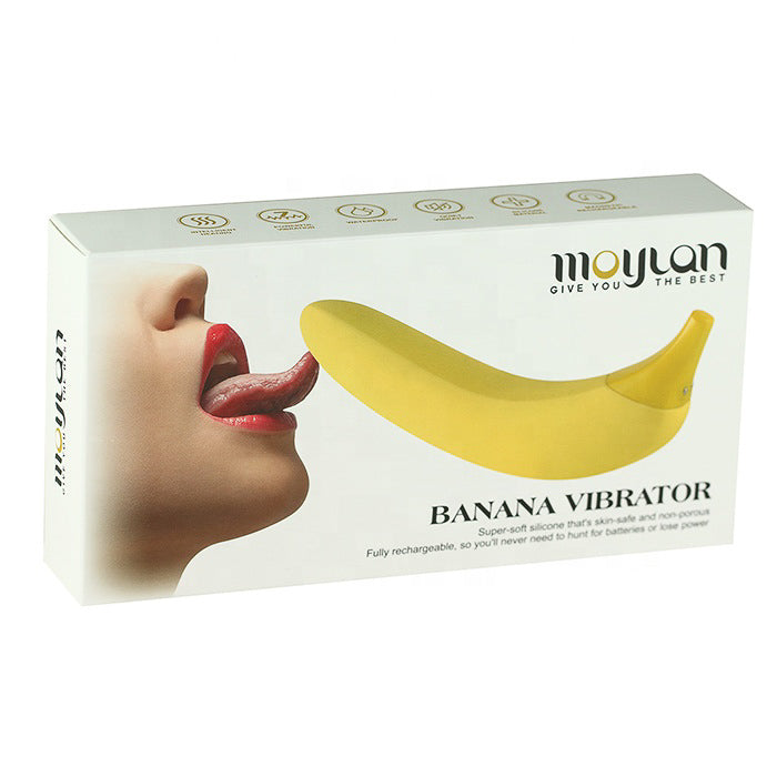Banana Vibrating Dildo