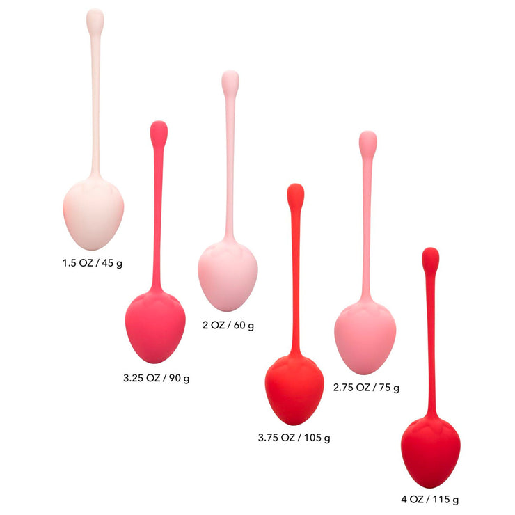Kegel Training Strawberry <strong>Pro</strong> <i>Set of 6</i>