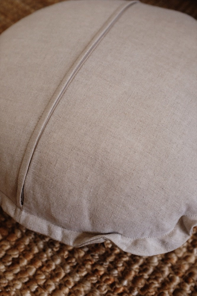 Cosmic Linen Cushion - Mother Earth
