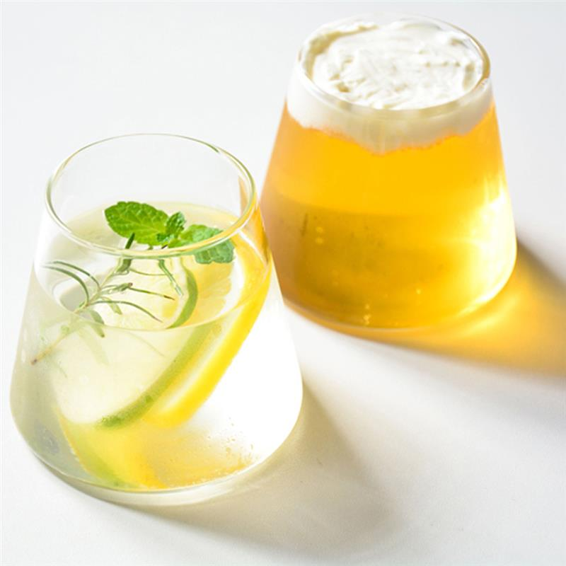2pcs Small Drinking Glass
