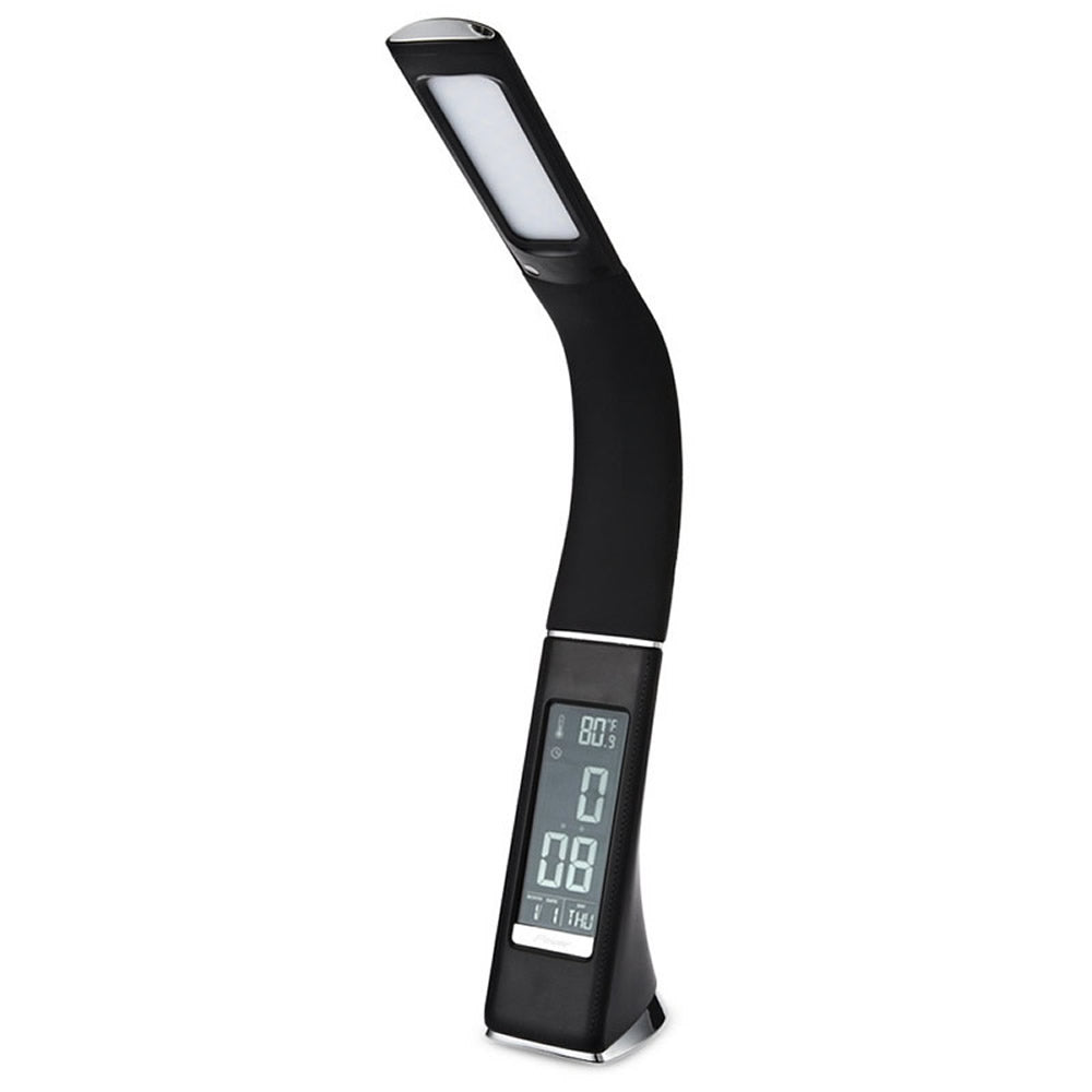 LED Business Desk Lamp with Alarm Clock