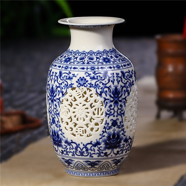 Antique Jingdezhen Ceramic Vase