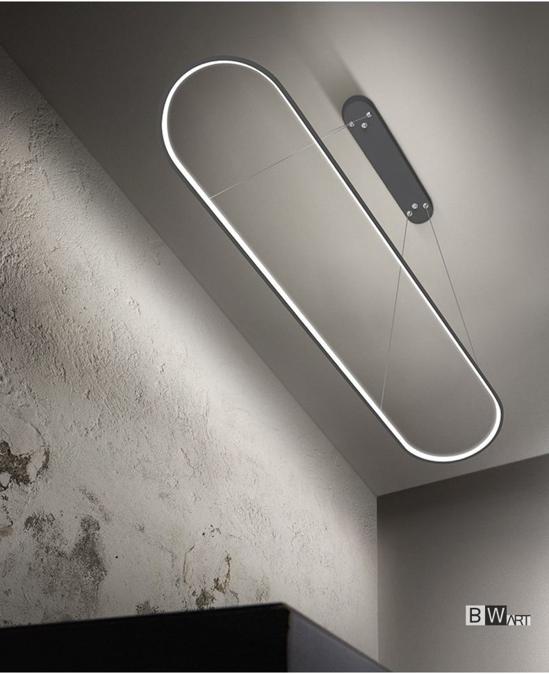 Minimalist LED Pendant Light