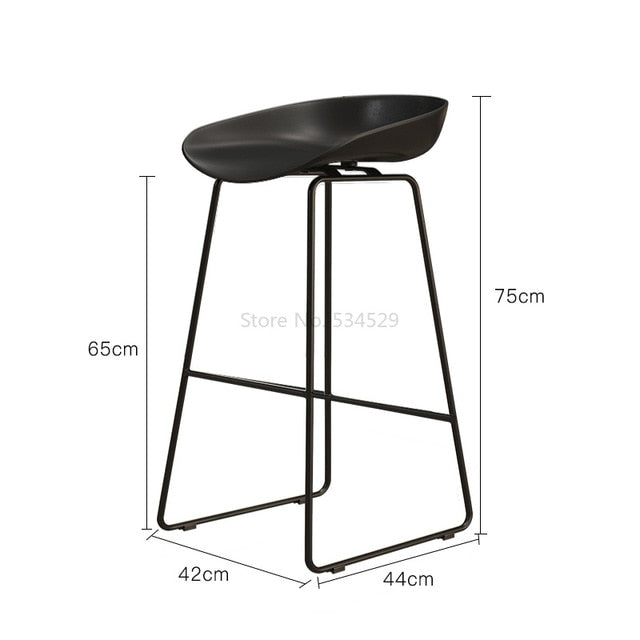 65cm Height Nordic Bar Stool
