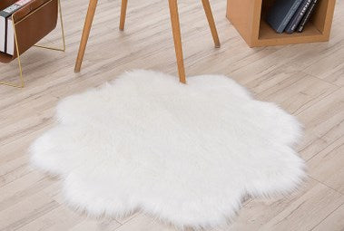 Heart Shape Fluffy Mat
