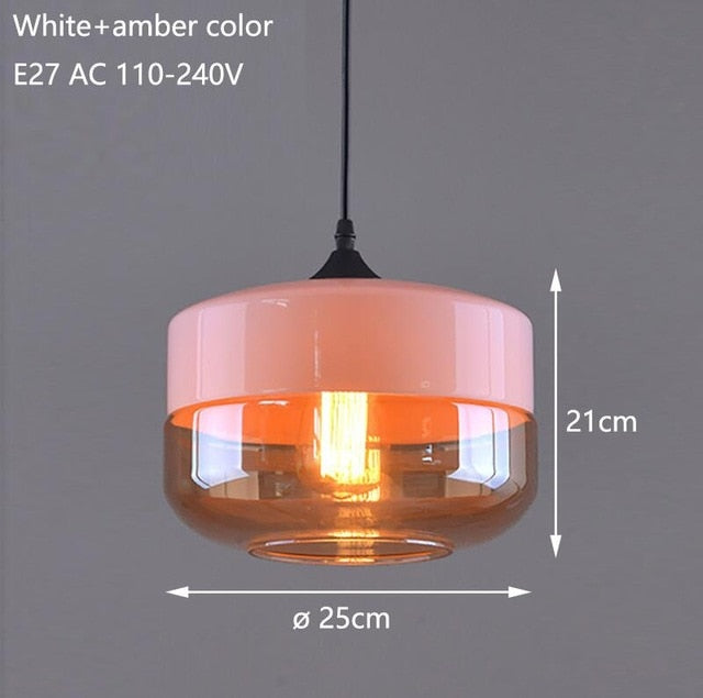 Modern Glass Pendant Lamp
