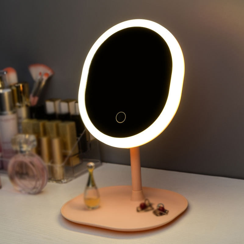 Makeup Backlit Mirror With Natural White LED Light