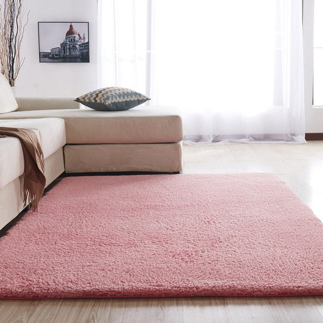 Large Nordic Solid Pile Carpet