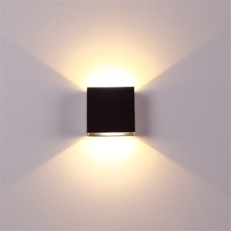6W  Square LED Wall Lamp