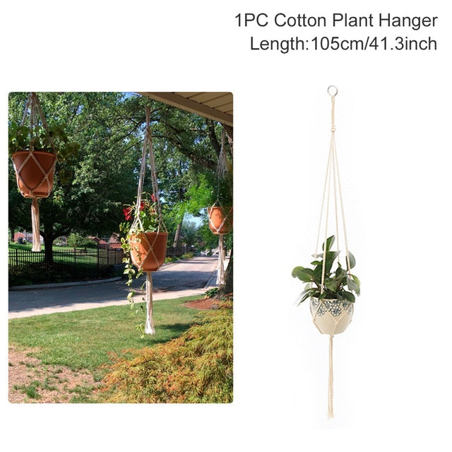 Macrame Plant Pot Hanging Basket