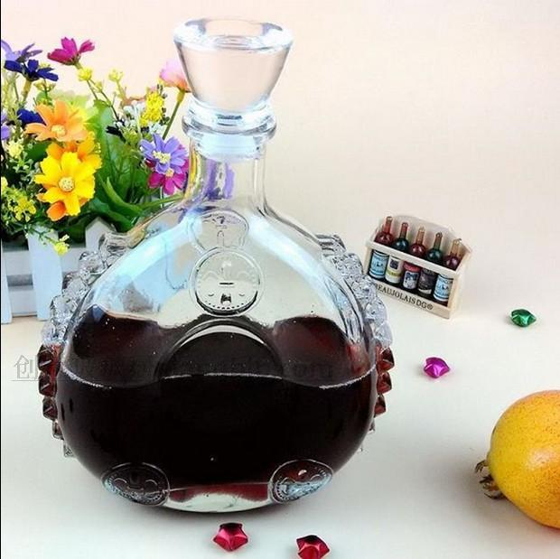 1PC 750ml Glass Wine Jug