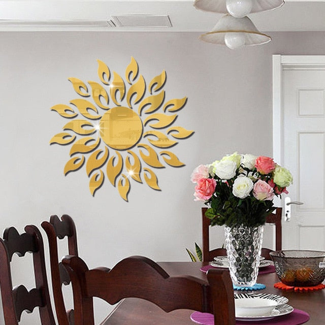 Acrylic DIY Decorative Mirror Wall Sticker