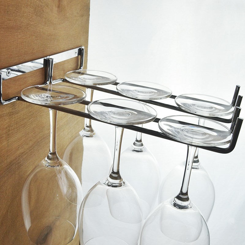 Wall Mount Wine Glass Hanging Frame