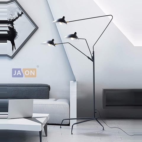 Modern Luxury LED Resin Retro Floor Lamp