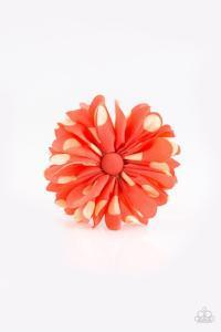 Tea Party Posh * Orange * Paparazzi Hair Accessory