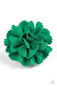 Heavy Petal * Green * Paparazzi Hair Accessory