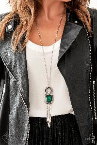 A Good TALISMAN is Hard to Find * Green* Paparazzi Necklace * Magnificent Musings FF