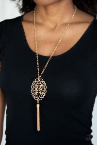 A MANDALA of the People * Gold * Paparazzi Necklace