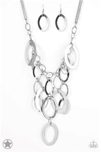 A Silver Spell Blockbuster Paparazzi Necklace