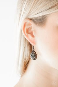 Western Wisteria * Black * Paparazzi Earrings