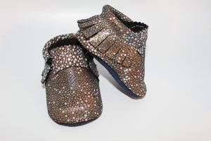 Stingray Gold moccs -Limited Edition