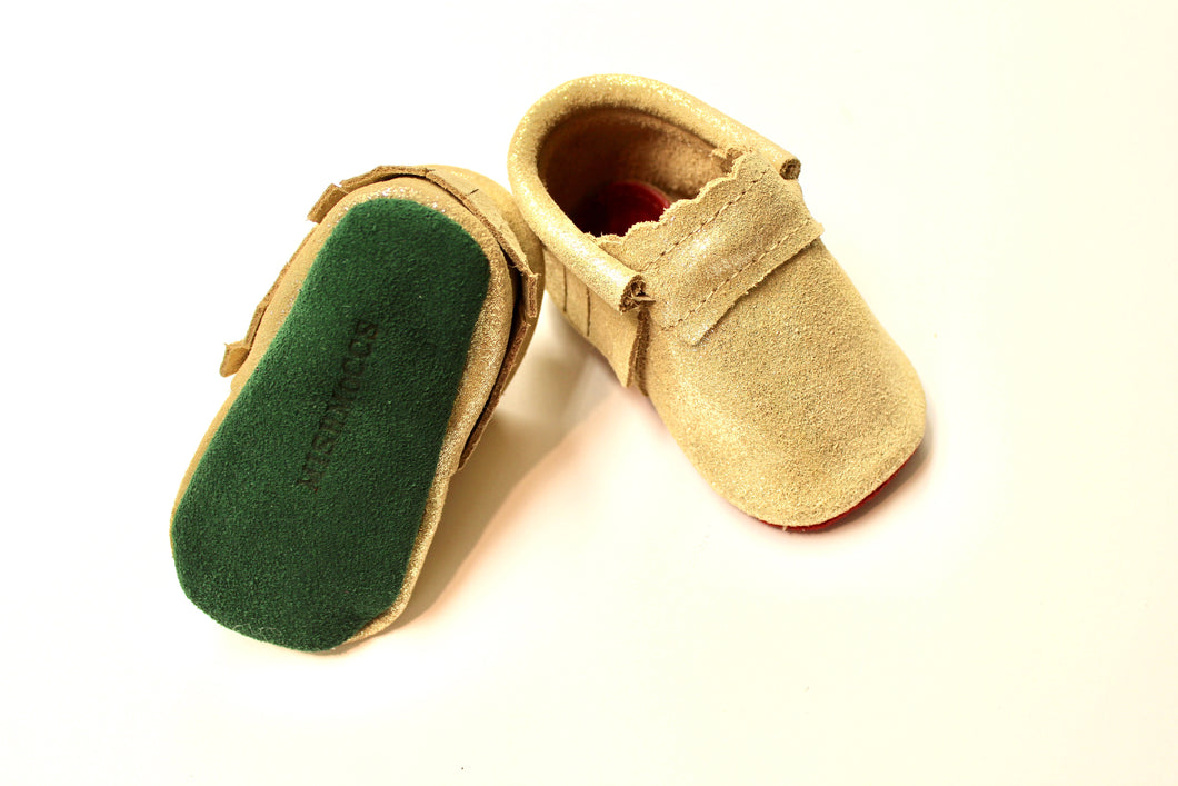 Gold Pyrite -Green Soles- Holiday