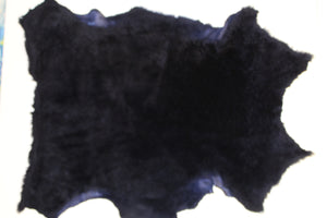 Navy Blue - Sheep Shearling Hide