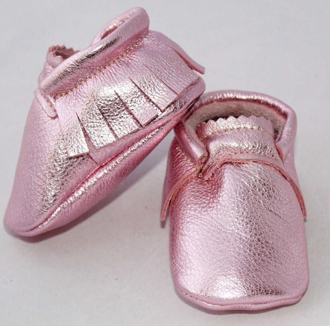 Sapphire Pink  moccs