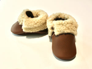 Sheep Shearlings Brown moccs - Limited Edition