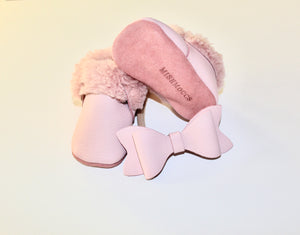 Sheep Shearlings Pink moccs - Limited Edition