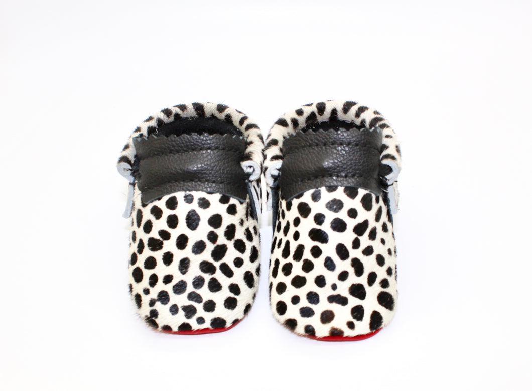 Cheetah Moccs - Hair on Hide
