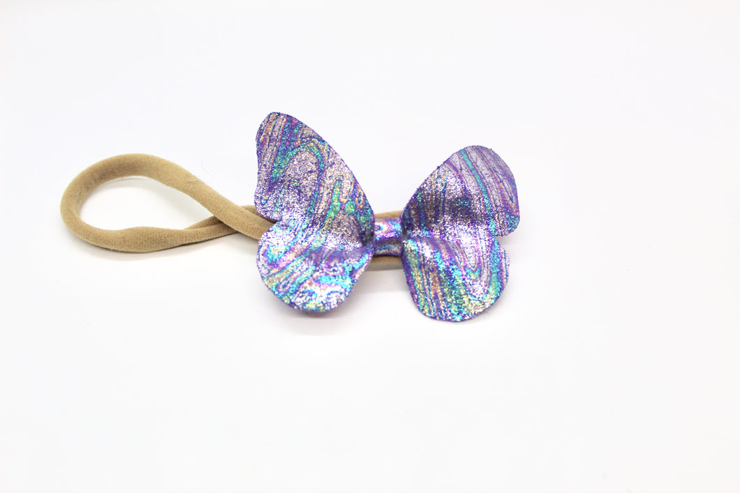 Headbands Dragonfly Bow - Leather