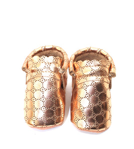 Rose Gold  Perforated - Limited Edition Moccs - Princess