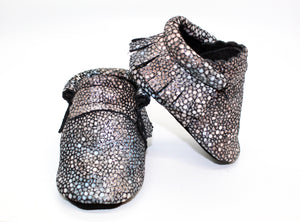 Stingray Silver moccs -Limited Edition