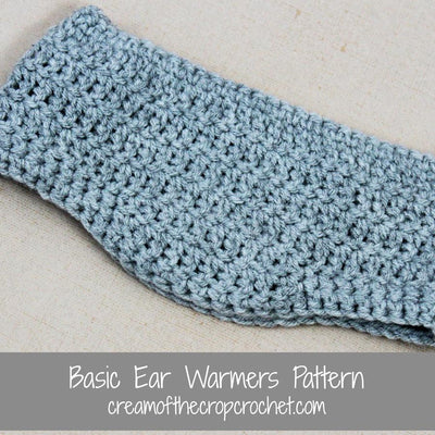 Julian Ear Warmers Crochet Pattern