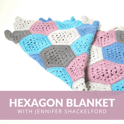 Hexagon Blanket Crochet Class