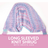 Long Sleeved Knit Shrug Class
