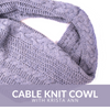 Cable Knit Cowl Class