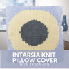 Intarsia Knit Pillow Cover Class
