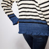 Breton Ruffle Cuff Sweater Crochet Kit