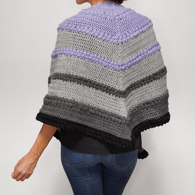 Tonal Shawl Crochet Kit