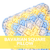 Bavarian Square Pillow Crochet Class